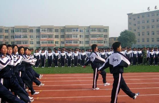 昌黎县汇文第二中学 汇文二中 照片 学校 我要搜学网图片